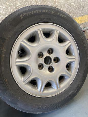 Jantes originais jaguar XJ8 com pneus
