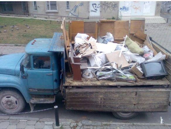 Вивіз сміття, вивоз мусора, земельные работы, занос материла, демонтаж