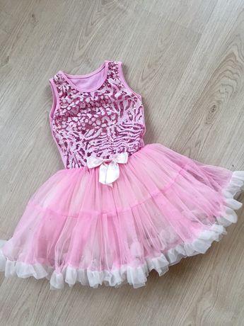 Sukienka tiulowa roz. 110