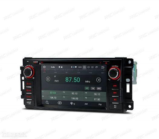 AUTO RADIO GPS ANDROID 10 JEEP / DODGE / CHRYSLER