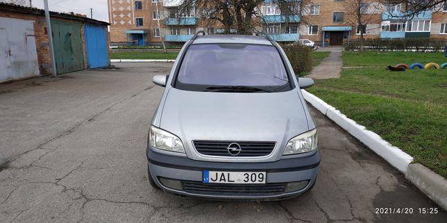 Продам Opel Zafira A в отличном состоянии. Попадает под закон.