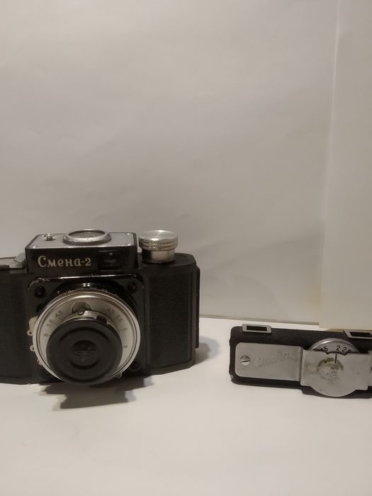 Продам фотоаппарат Смена 2 с чехлом (торг) Киев - изображение 1