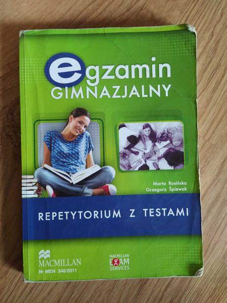 Egzamin gimnazjalny.. repetytorium z testami +cd.. wyd. Macmillan..