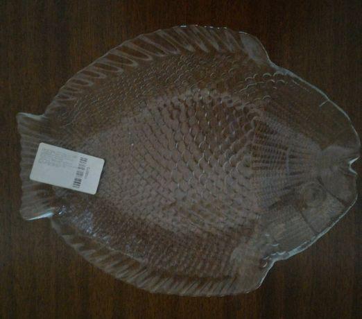 Тарелки сервировочные в виде рыбы. Турция.(6 штук)