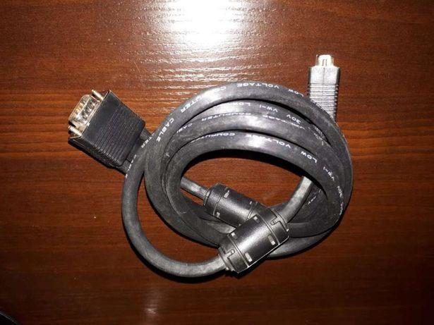Kabel VGA D-SUB 1.8 m.