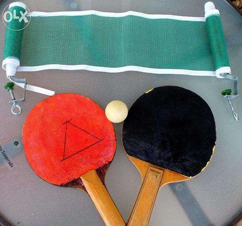 Kit de ping pong portátil