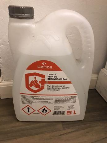 Nowy płyn do dezynfekcji orlen 5 litrów