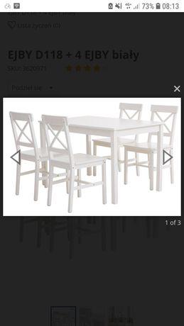 Stół i 4 krzesła na sprzedaż