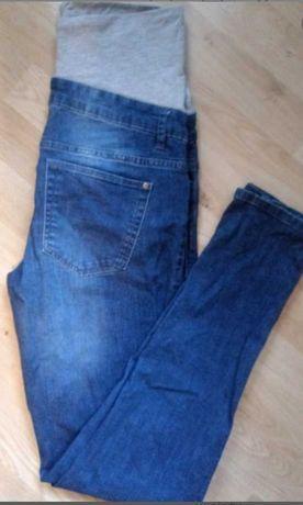Długie Spodnie ciążowe jeansy s