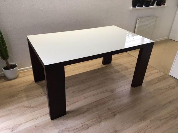 Stół rozkładany w kolorze brązowym (wenge)