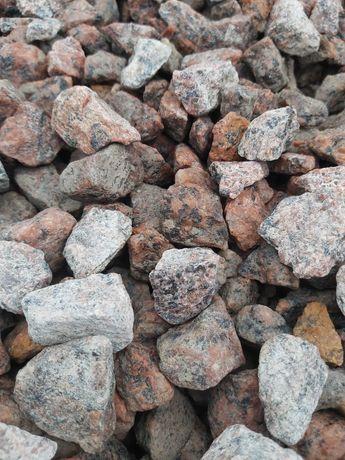 Grys Vanga (granit czerwony skandynawski) 16-22, kamienie ozdobne