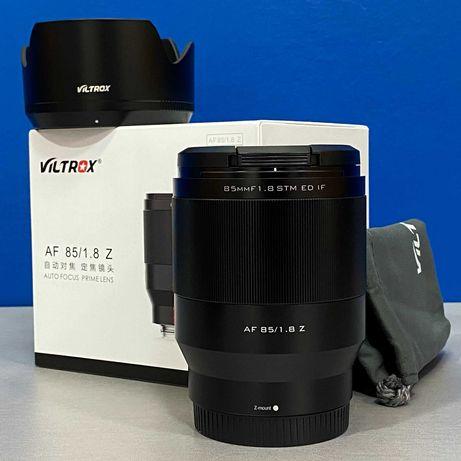 Viltrox AF 85mm f/1.8 STM ED IF (Nikon Z) - NOVA