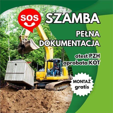 Szambo Betonowe Zbiornik Betonowy Deszczówka Piwniczka 100% SZCZELNE