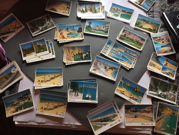 Coleção de Vários postais do Algarve