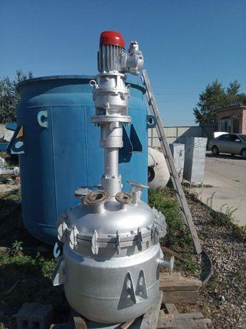 Реактор нержавеющий,нержавейка 0,33 м3,,сборник,емкость 3,2 м3 нерж.