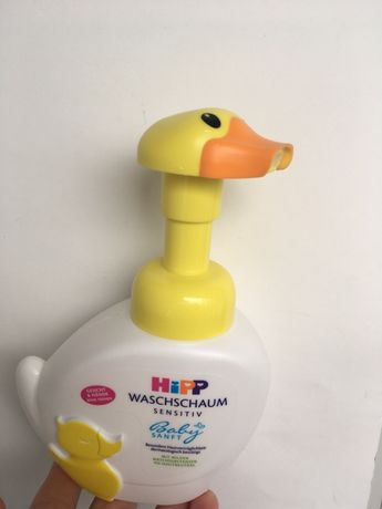 Органик пенка для детей и игрушка для купания уточка умывания мыло