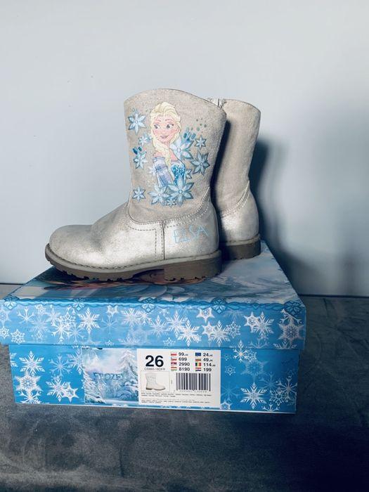 Buty Kozaki Frozen stan bardzo dobry rozm. 26 Babienica - image 1