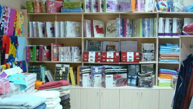 Торговое оборудование для магазина тканей и домашнего текстиля