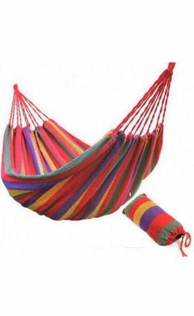 Гамак новый/подвесной гамак разноцветный хлопковый/мексиканский гамак