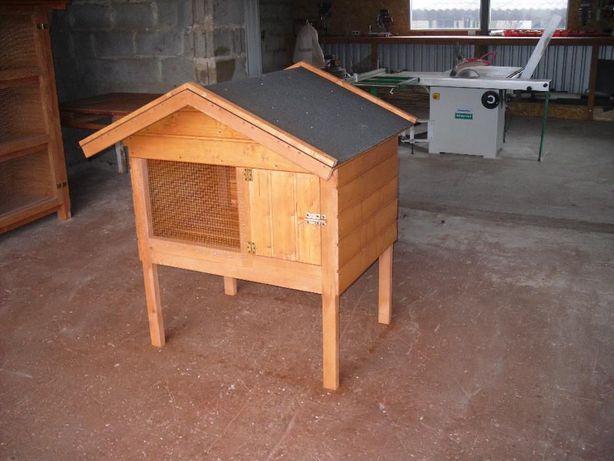 króliki oraz klatka klatki drewniana domek zobacz