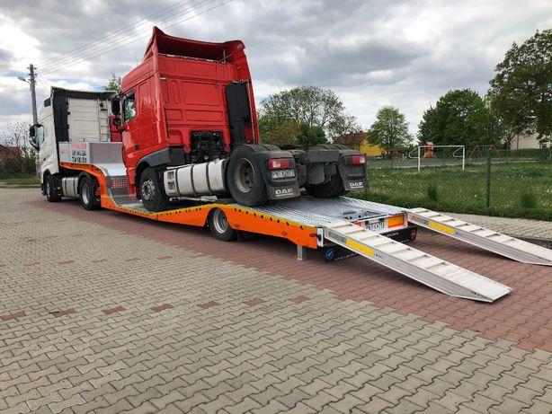 Laweta na ciężarowe / niskopodwozie do przewozu-WYNAJEM
