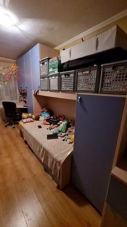 Мебель детская комната кровать 2-х ярусная