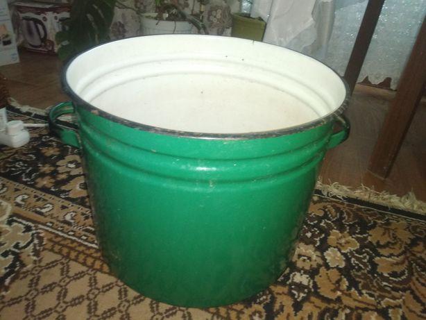 Кастрюля эмалированная на 40 литров