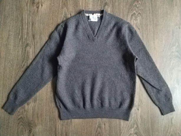 Теплый,ангоровый свитер,пуловер для мальчика 9-10 лет