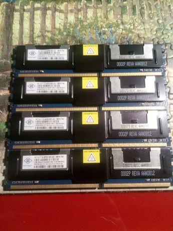 DDR2 800mhz servidor ECC