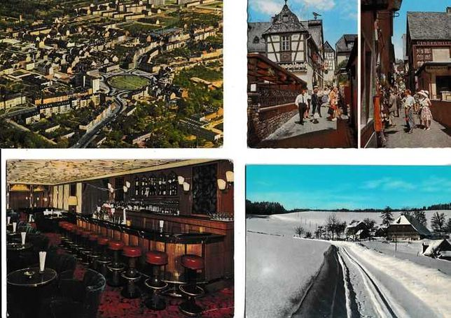 FRANÇA - Coleção 600 postais antigos Paisagens e Monumentos