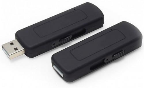 Dyktafon Cyfrowy Podsłuch Pendrive 8GB USB 192Kb s