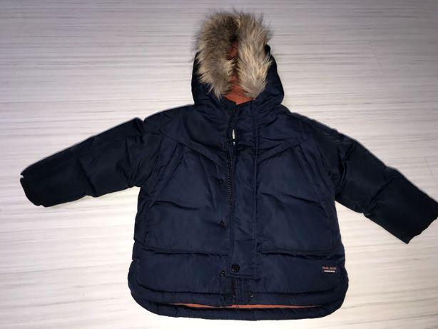 Zimowa kurtka ZARA BABY r. 92 (18-24 Miesiące)