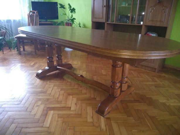 Duży, zadbany, rozkładany stół 3,5 m.