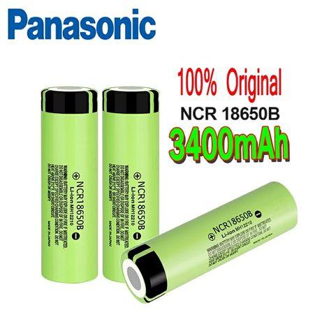 Ogniwo Panasonic,akumulator 18650 o pojemności 3400 mah.Made in Japan