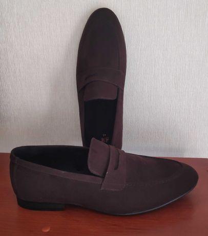 Новые мужские лоферы летние туфли H&M
