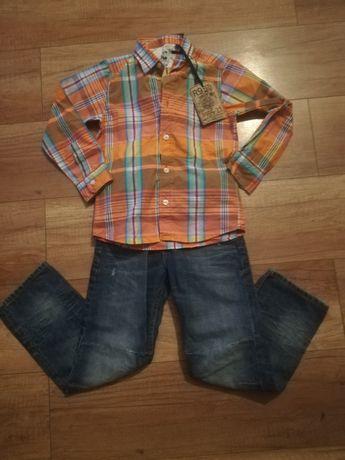Zestaw ubrań roz 110-116