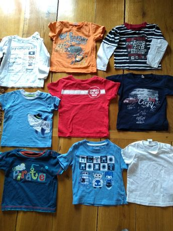 Bluzki dla chłopca r. 80