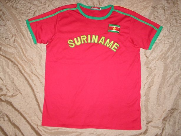 Футболка Awen с рисунком принтом Суринам Suriname
