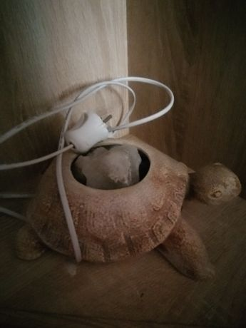 Соляная лампа, керамика