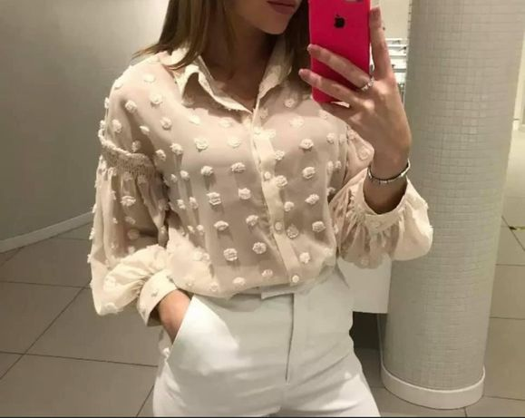 Bluzka koszula  zara