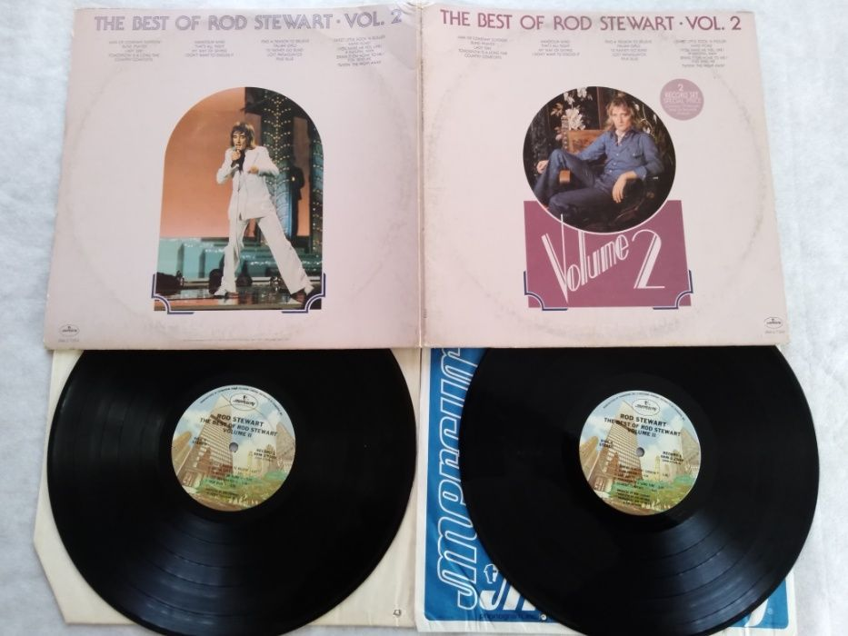 The Best of Rod Stewart -Vol. 2- 2 LP+plakat-USA. Chrząstów - image 1