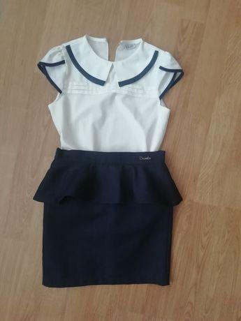 Школьная форма юбка блузка