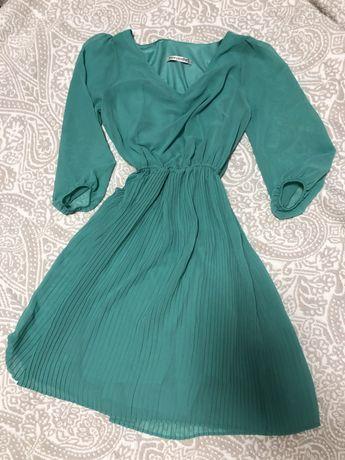 Платье с юбкой-плиссе Fervente