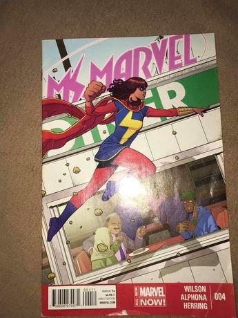 Komiks Marvel MS Marvel Zeszyt