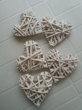 corações em verga brancos