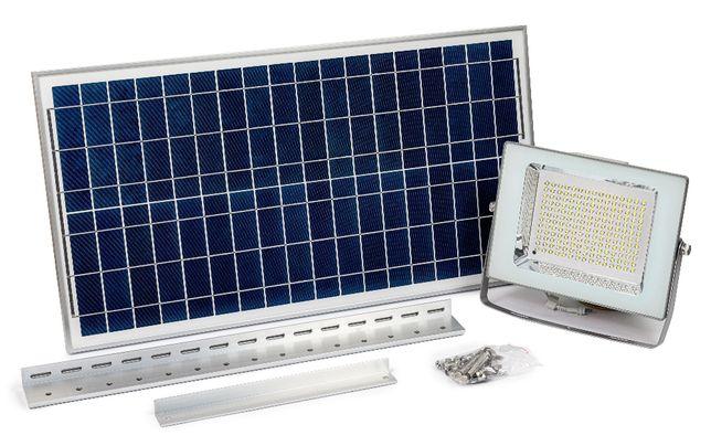 Lampa Solarna 180 LED Z Czuj. Zmierzchu 100 % Firma Ogród Reklama !