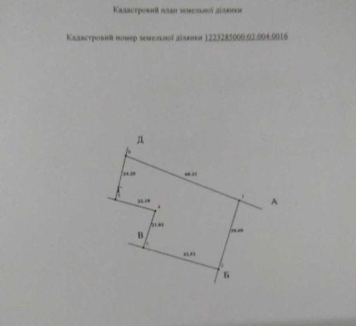 Участок 22,6 сот (приват) угловой с домом Орловщина
