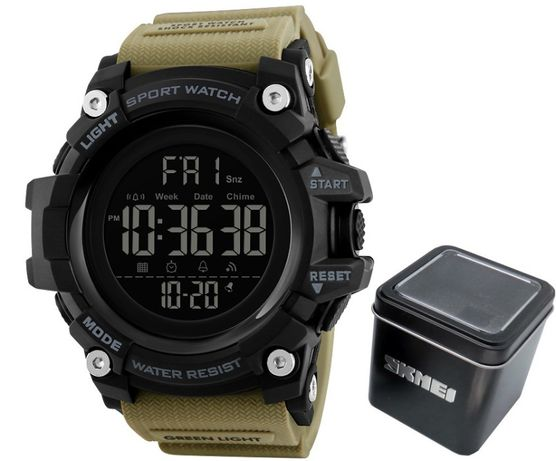 WOJSKOWY zegarek męski SKMEI S-SHOCK NOWY MODEL 2020 !!! promocja -50%