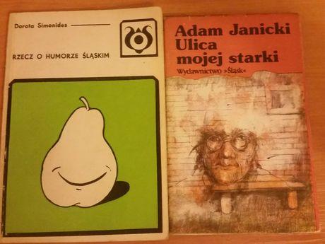 Zestaw książek Śląsk 2 pozycje humor literatura