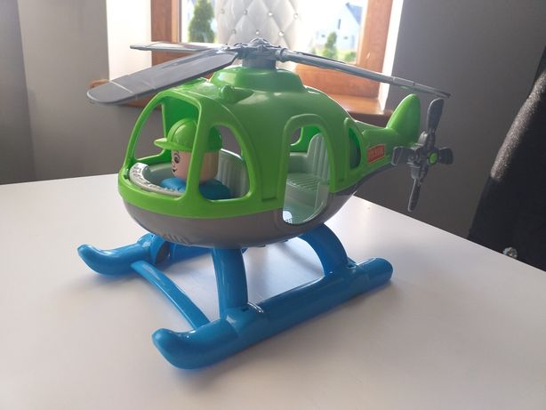 Samolot helikopter zabawkowy solidny Polesie